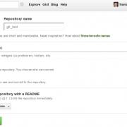 Ein neues Repository auf GitHub erzeugen