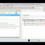 Push Repository nach GitHub mit Eclipse: Im Git Repository zwei hochzuladenen Commits