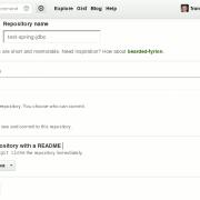 Neues Projekt mit GitHub und Eclipse anlegen: Ein neues Repository in GitHub anlegen
