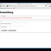 Die Abmeldung von der Webanwendung